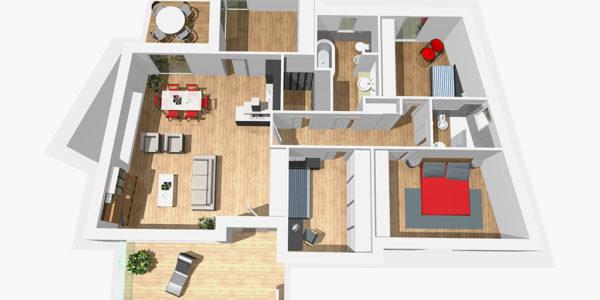 Progetto costruzione nuova villa dormelletto immobiliare for Progetto villa moderna nuova costruzione