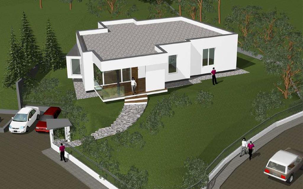 Vendesi villa con giardino nuova dormelletto immobiliare for Giardino villa moderna